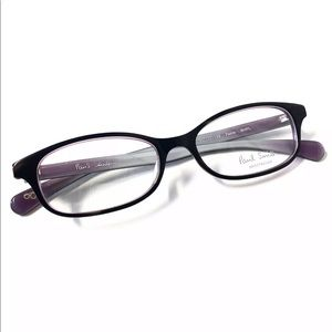 Paul Smith Eyeglasses Black Lavender  New